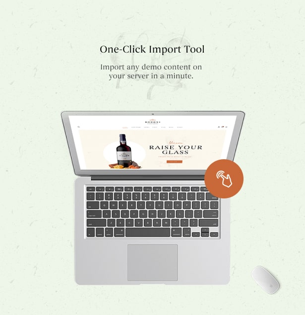 Bodoni - Wine Shop & Vineyard WordPress Theme - One Click Demo Import