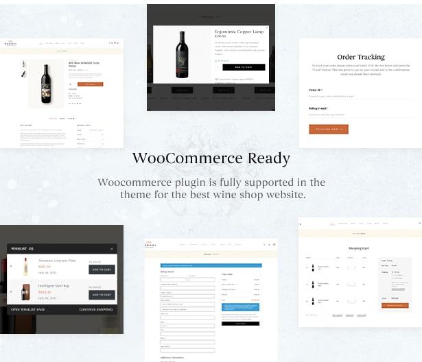 Bodoni - Wine Shop & Vineyard WordPress Theme - Ready WooCommerce Winery Theme for Selling
