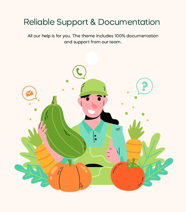 Freshio - Organic & Food Store WordPress Theme