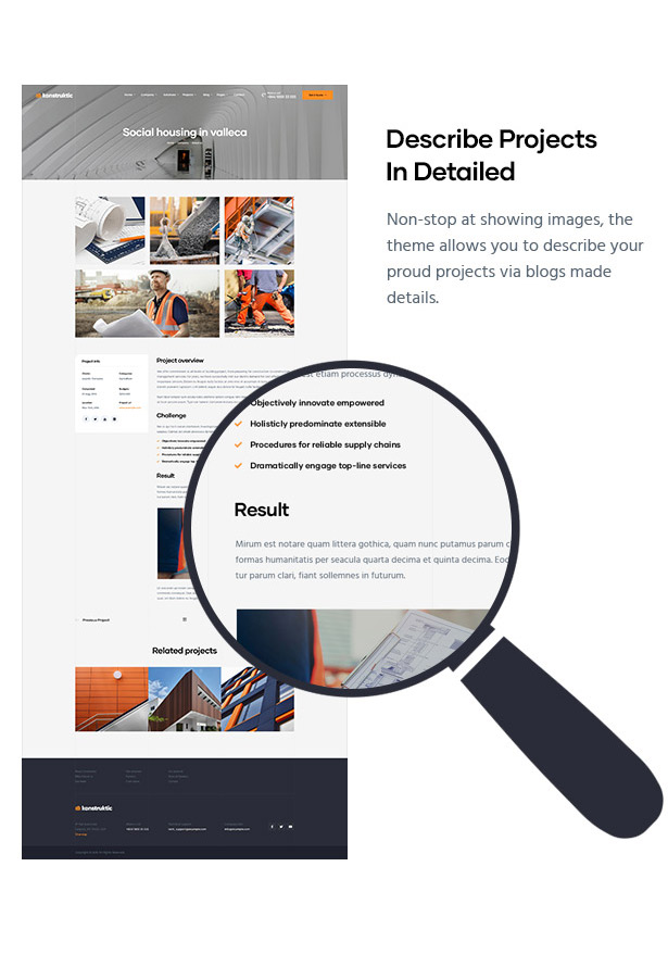 Konstruktic - Best Building, Engineering & Architecture WordPress Theme