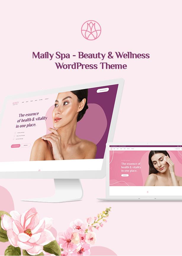 Mailyspa - Beauty & Wellness WordPress Theme