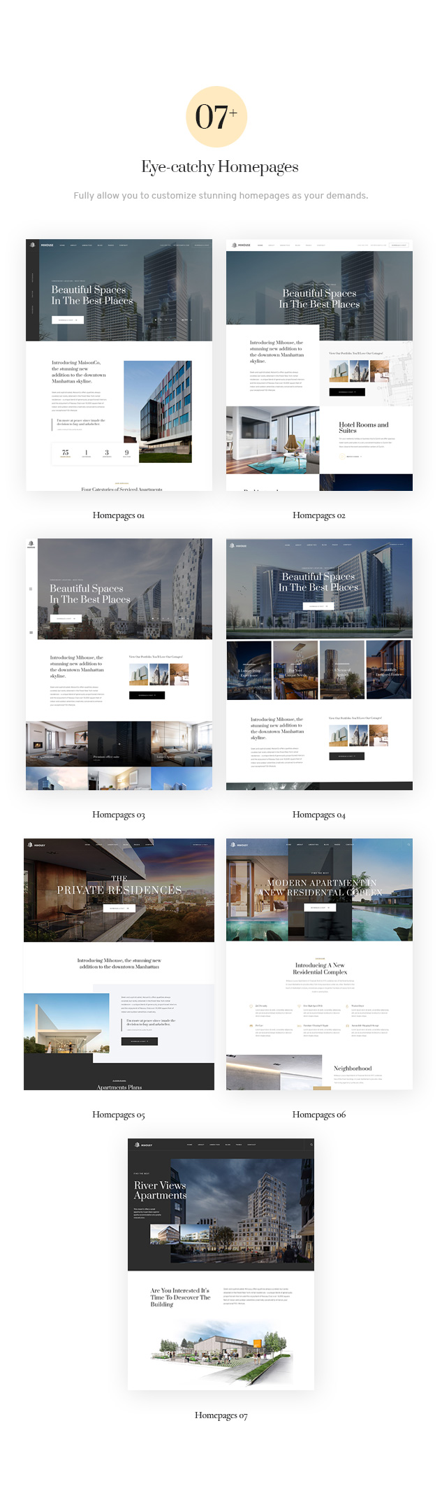 Mihouse - Single Property WordPress Theme