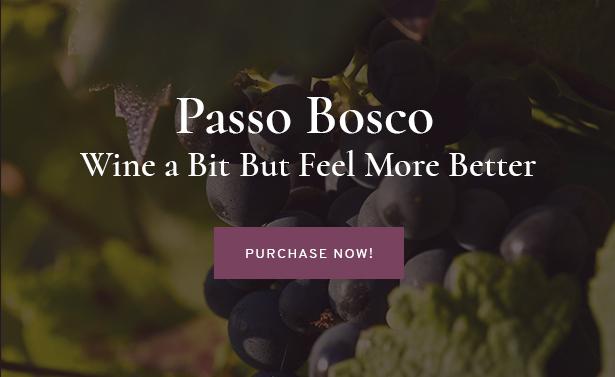 Passo Bosco is a Wine & Winery WordPress