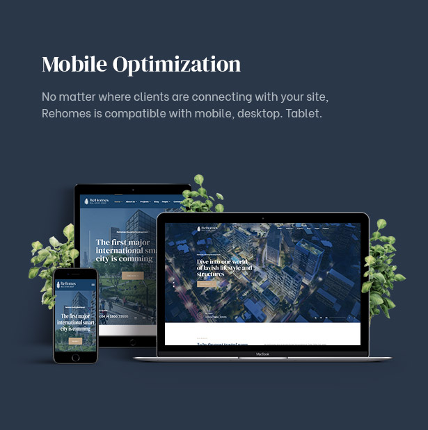 Responsive with mobile and any device