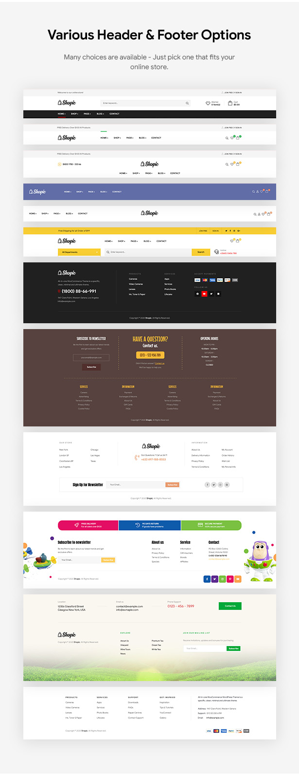 Shopic - Multipurpose WooCommerce WordPress Theme