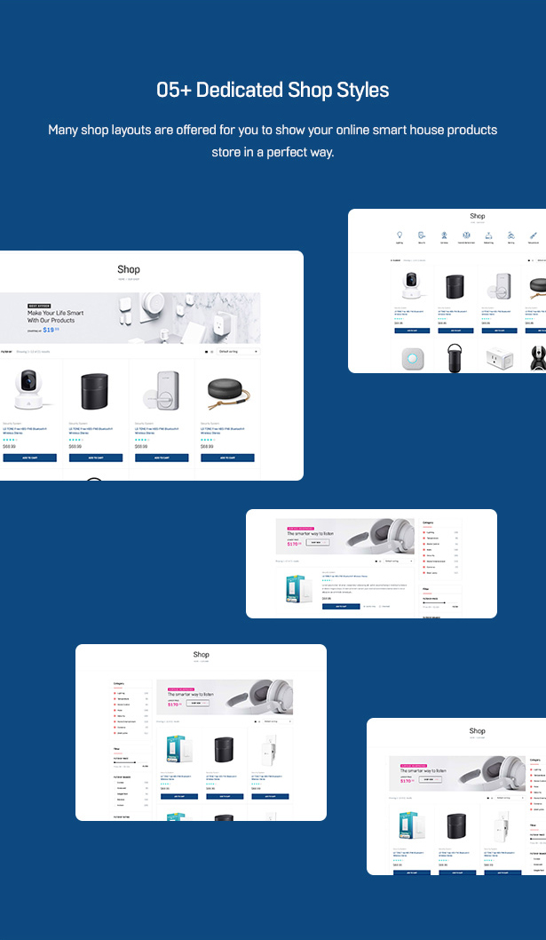 Smarthaus - Smarthome Products WooCommerce Theme