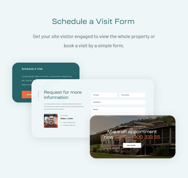 Spacey - Single Property WordPress Theme