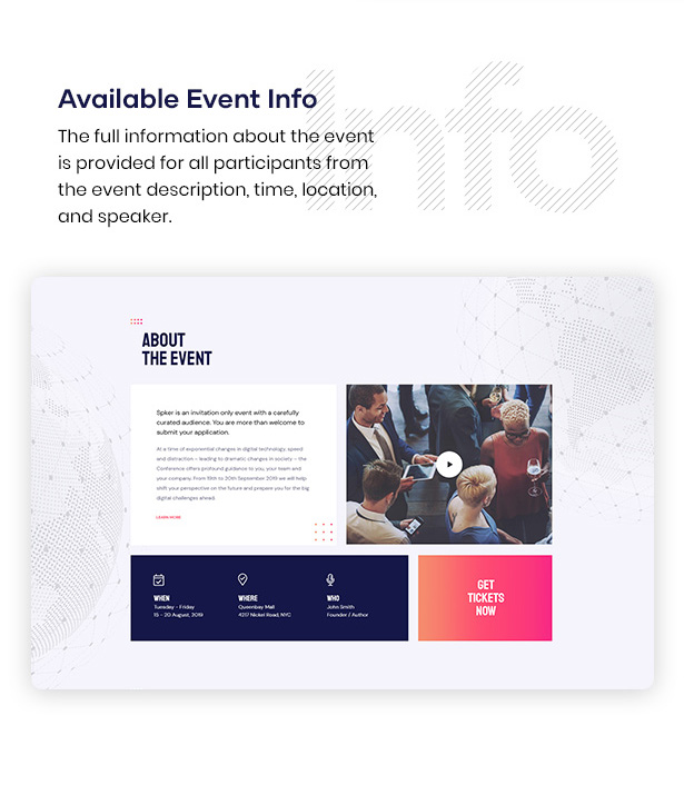 Spker - Conference & Event WordPress Theme