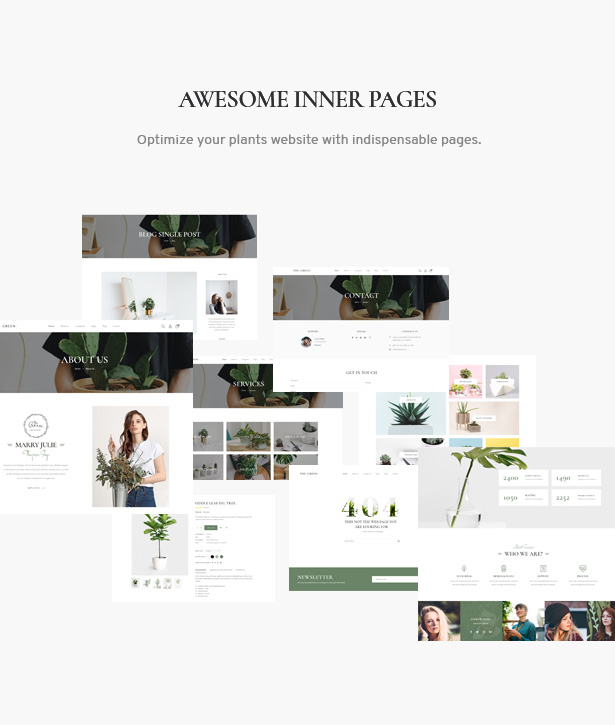 The Green - Houseplants & Gardening WordPress Theme
