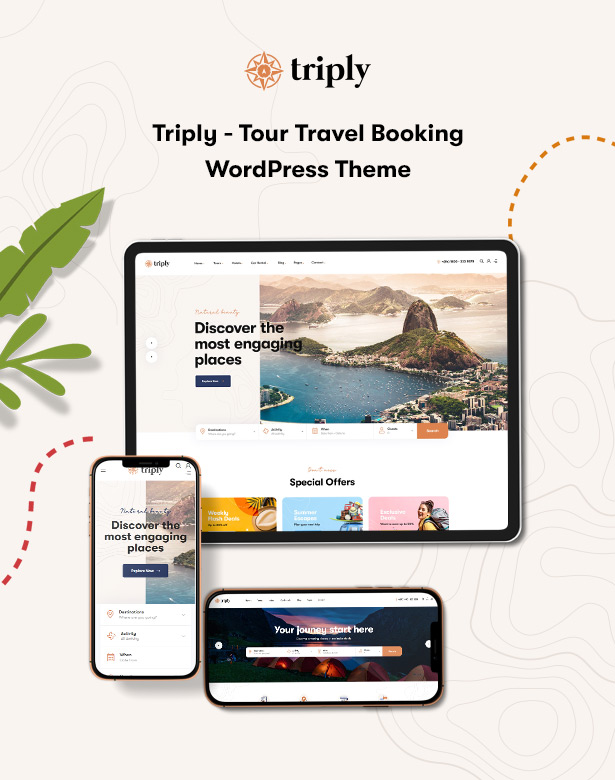 Triply - Tour Booking WordPress Theme