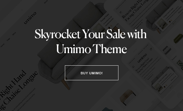 Umimo - Furniture Store WordPress Theme