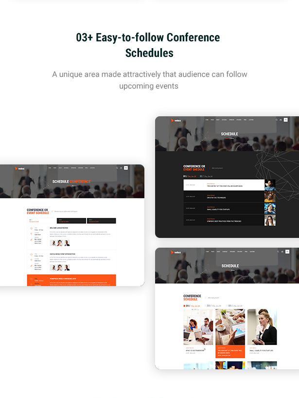 Vetex - Event & Conference WordPress Theme
